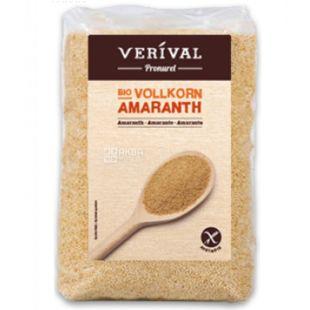 Verival, Bio Vollkorn Amaranth, 500 г, Веривал, Амарант, органический