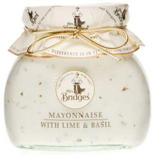 Mrs Bridges, Майонез з лимоном та базиліком, 180 г