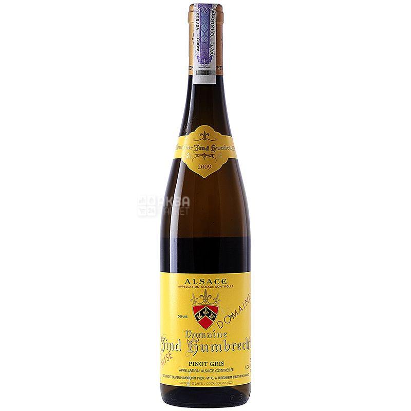 Pinot-Gris, Domaine Zind-Humbrecht, Вино біле сухе, 0,75 л