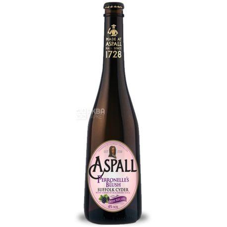 Aspall Perronelle's Blush, Сидр яблочный, 0,5 л