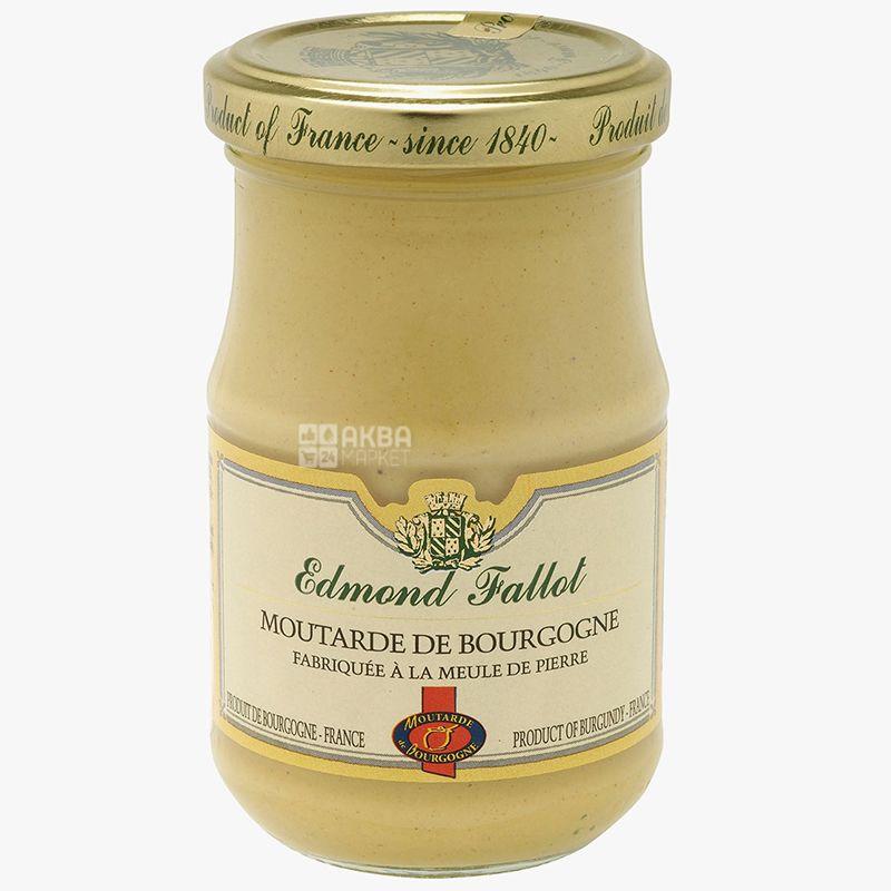 Edmond Fallot, гірчиця бургундська з білим вином, 210 г