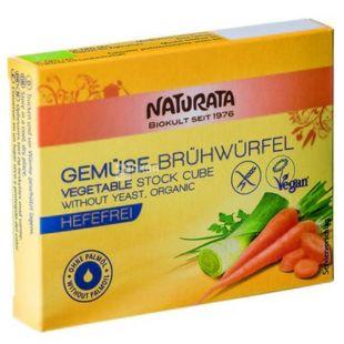 Naturata Бульонные кубики овощные без добавления дрожжей, органические, 72 г