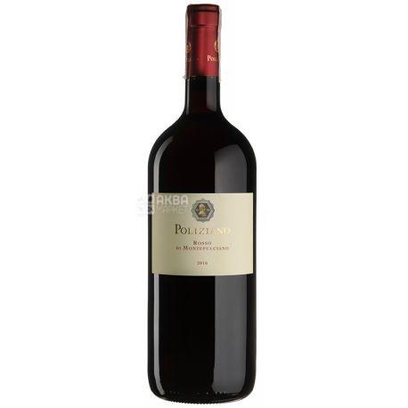 Poliziano, Rosso di Montepulciano 2016, Вино красное сухое, 0,75 л