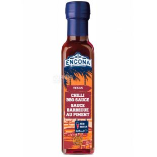 Encona, Texas Sauce, Chili BBQ, 142 ml