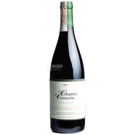 Elian Da Ros, Chante Coucou 2014 Вино красное сухое, 0,75 л
