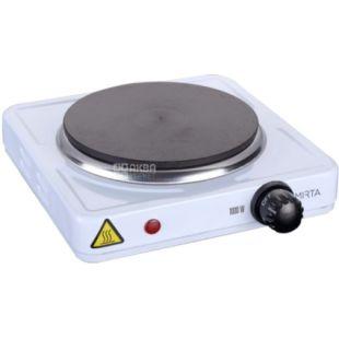 Mirta, HP-9910, электрическая плита настольная, 21,4х21,4х7 см