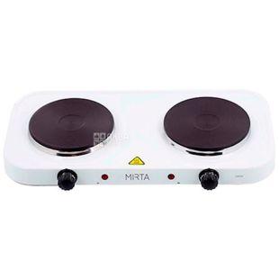 Mirta, HP-9920, Плита электрическая, белая, 48*27*6,5 см