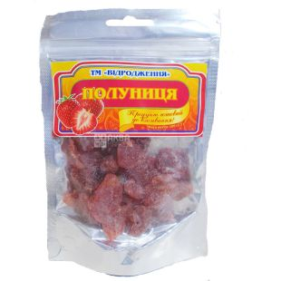 Revival, dried strawberries, 100 g