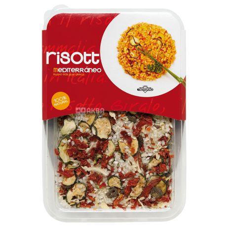 Trevijano, Risotto, 280 г, Тревияно, Ризотто Средиземноморское, рис с овощами