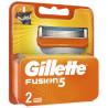 Gillette Fusion, Сменные картриджи для бритья, 2 шт.