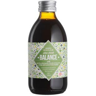 Organic Human, Balance, 0,25 л, Органік Х'юмен, Баланс, Напій соковий, з травами і фруктами, органічний, скло