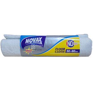 Novax, Ганчірка для підлоги, 50x60 см, неткане полотно