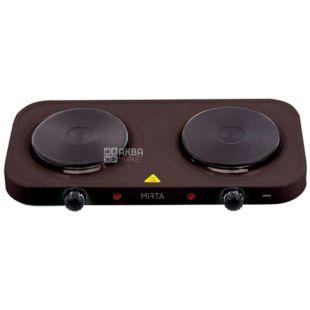 Mirta, HP-9920B, Electric stove, black, 48 * 27 * 6.5 cm