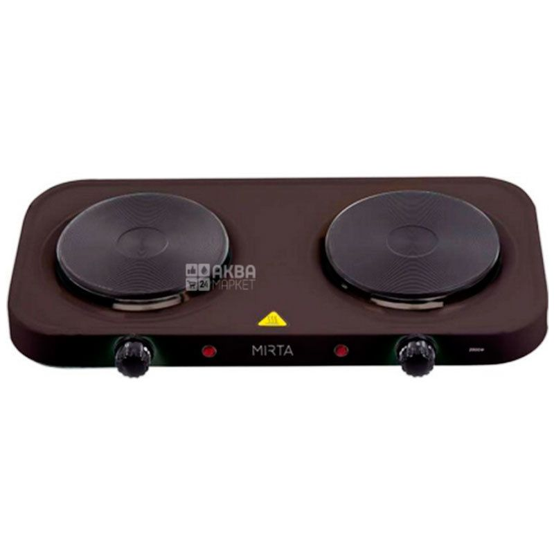 Mirta, HP-9920B, Плита электрическая, черная, 48*27*6,5 см