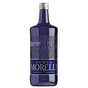Acqua Morelli, Mineral Water, 0,75 L, glass, glass