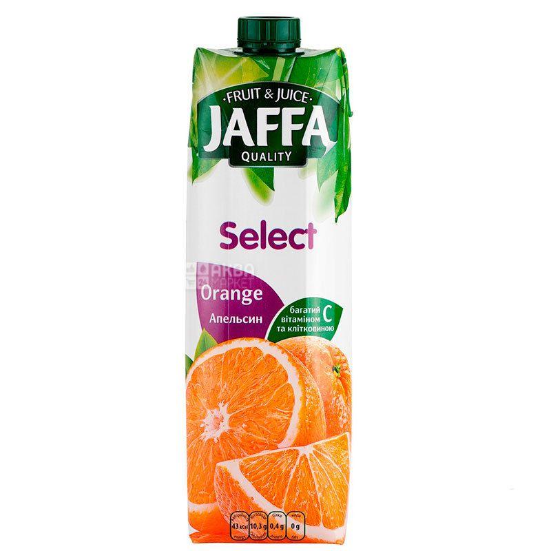 Jaffa, Select, Апельсиновый, 0,95 л, Джаффа, Нектар натуральный