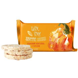 Tasty Style, Bread cereal cocktail, with pumpkin, 50 g