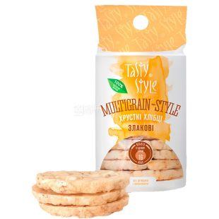 Tasty Style, Хлебцы злаковые, 95 г