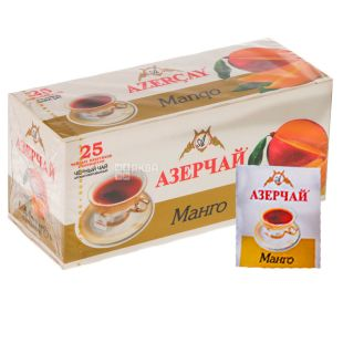 Azerçay, Mango, 25 pack * 2 g, Azerchay tea, black with fruit flavor