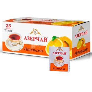 Azerçay, Апельсин, 25 пак *2 г, Чай Азерчай, черный с цитрусовым ароматом