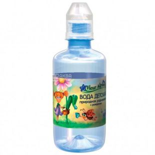Fleur Alpine, Non-carbonated water for children, 0.25 l, sport, PET, from the first days of life, PAT