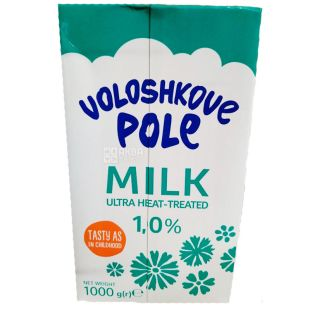 Волошкове поле, Молоко ультрапастеризоване 1%, 1 л