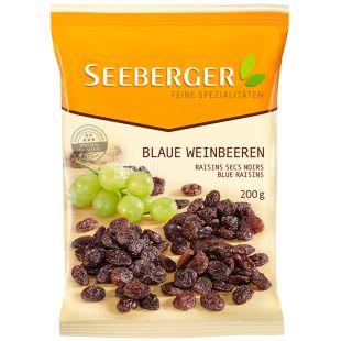 Seeberger, Ізюм блакитний без кісточок, 200 г