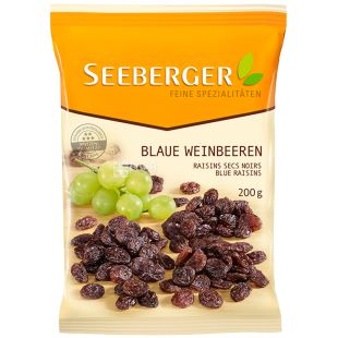 Seeberger, Изюм голубой без косточек, 200 г
