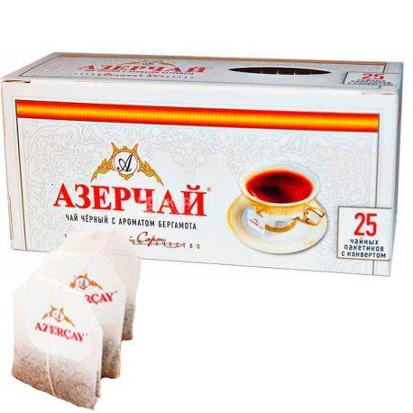 Azerçay, 25 пак. * 2 г, Чай чорний з ароматом бергамоту