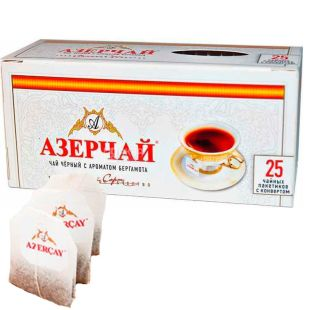 Azerçay, Чай чорний з бергамотом, 25 пак. *2 г