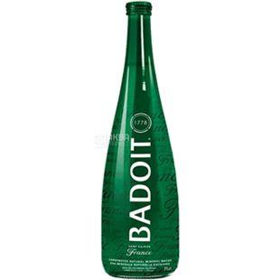 Badoit, Вода минеральная газированная, 0,75 л, стекло, стекло