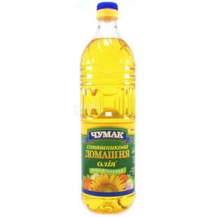 Chumak, Unrefined Sunflower Oil, 900 ml