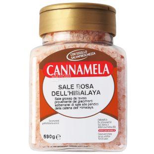 Cannamela, Соль розовая Гималайская, 590 г