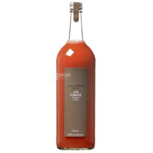 Alain Milliat, Jus Tomate, 1 л, Ален Миллиат, Томатный сок, прямого отжима, стекло