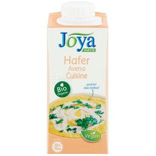 Joya Oats Cuisine Organic, 200 мл, Джоя, Вівсяні вершки, кулінарні, органічні