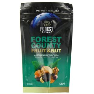 Forest Feast, Dried Fruit & Nut Mix, 125 g