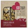 Bio Today, Батончик злаковий Журавлина-Мигдаль, органічний, 3 шт. х 25 г