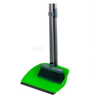 Cleaning kit, scoop and brush, 90 cm, TM Ergopack