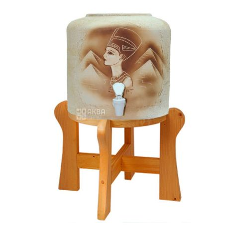 Диспенсер для воды Нефертити, керамика