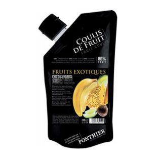 Ponthier, Exotic fruits, Coolie sauce, chilled, 250 g