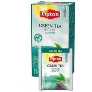 Lipton, Green, 25 пак., Чай Липтон, Зеленый байховый