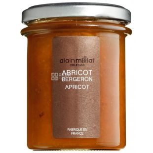 Alain Milliat, Jam apricot bergeron, 230 g