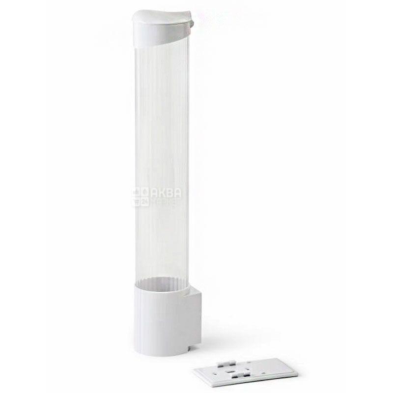 Стаканотримач для кулера на 100 стаканчиків, білий