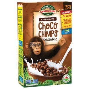 Nature's Path, Envirokidz, 283 г, Мюсли Нейтчес Пат, Шимпанзе, шоколад, органические, сухой завтрак, быстрого приготовления