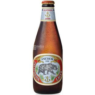 Anchor California Lager, Пиво світле фільтроване, 0,355 л