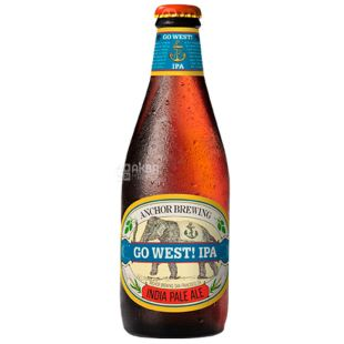 Anchor Go West IPA, Beer light, 0,355 l