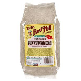 Bob's Red Mill, Buckwheat Flour, 0,623 кг, Борошно Бобс Ред Мілл, гречане, органічне