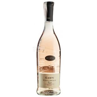 Canti, Pinot Grigio Veneto Rose, Wine pink semi-dry, 0.75 l