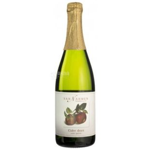 Cider Doux, Van Nahmen, Cider, 0.75 L