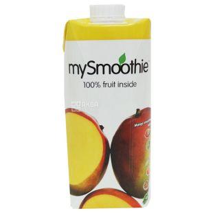 MySmoothie, Mango, Манго, 0,75 л, Майсмузи, Смузи натуральный